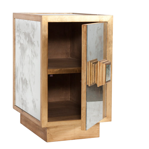 Worlds Away Savannah Cabinet