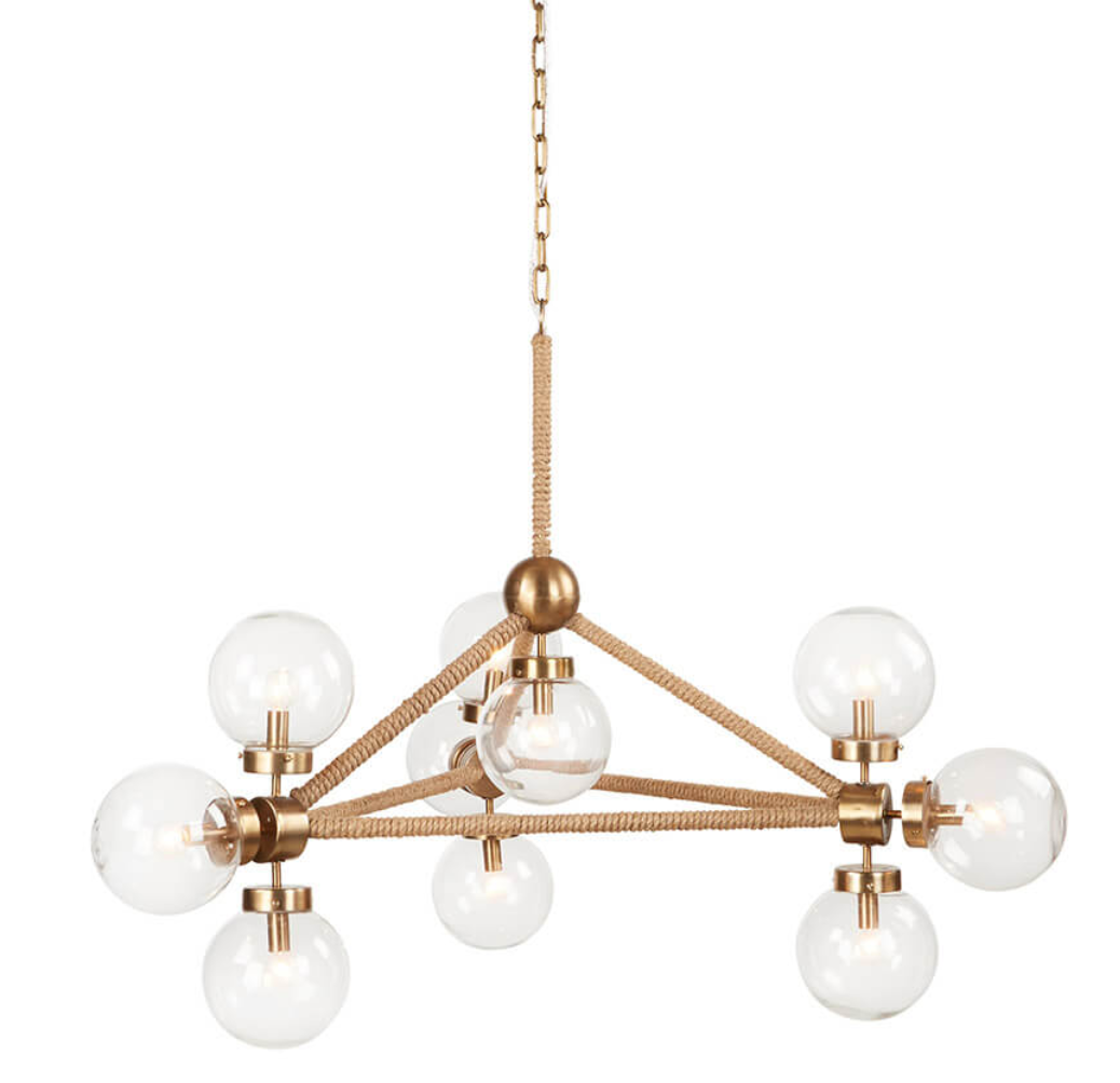 Rope Globe Chandelier from BoBo Intriguing Objects