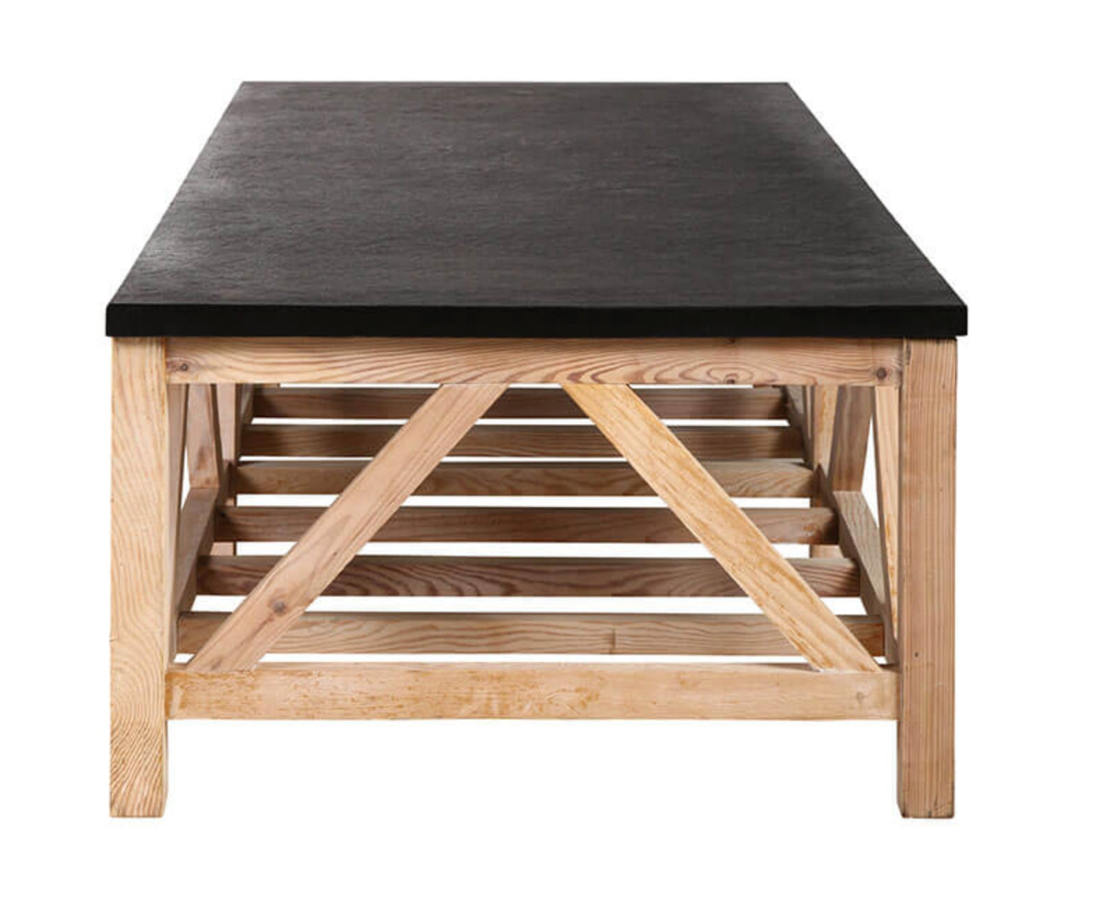 Bobo Intriguing Objects Slate Coffee Table Chanel Home