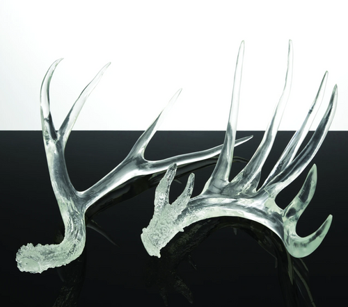 Clear Antlers by Couture, Set of 2