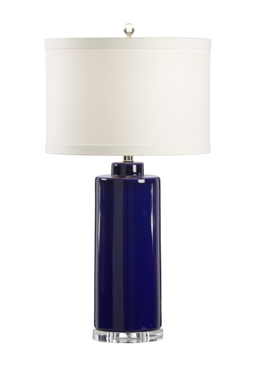 Wildwood Edith Table Lamp in Blue