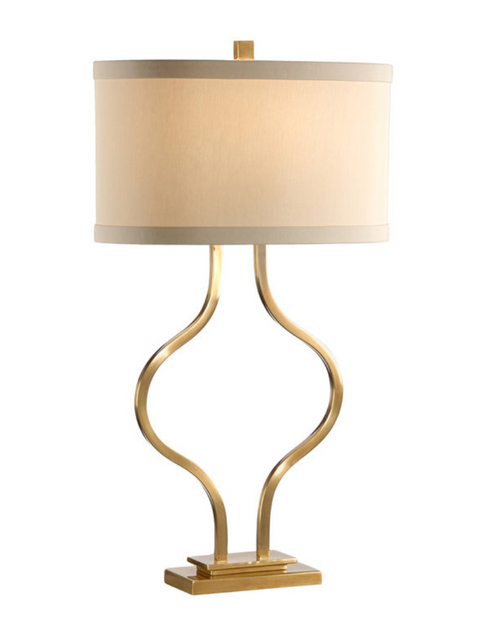 Wildwood Brass Bow Lamp