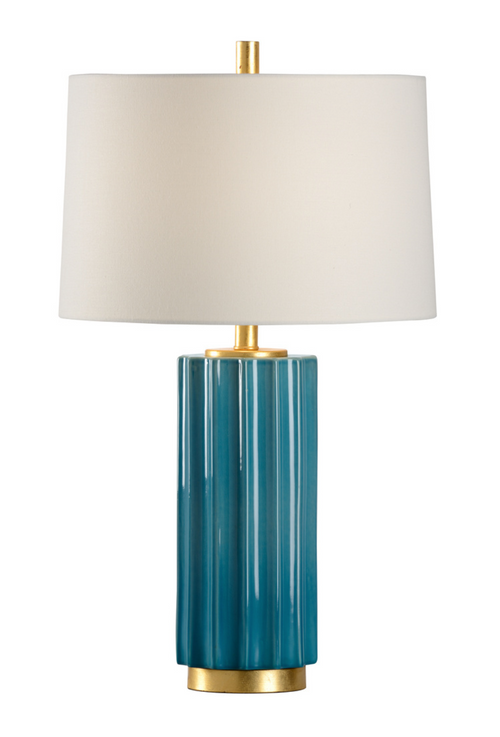 Mythos Teal Table Lamp by Wildwood
