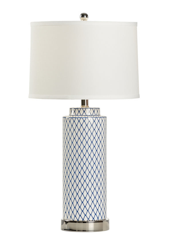 Betsy Blue Lamp by Wildwood