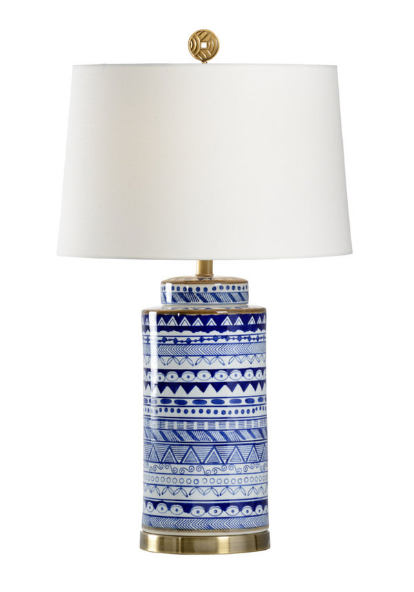 Destin Lamp in Blue by Wildwood