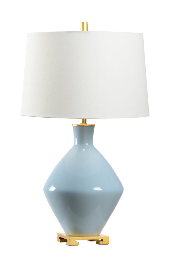 Skylar Lamp in Sky Blue by Wildwood