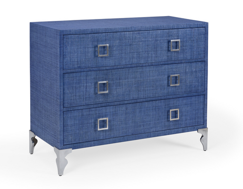 Nina Blue Accent Chest by Wildwood