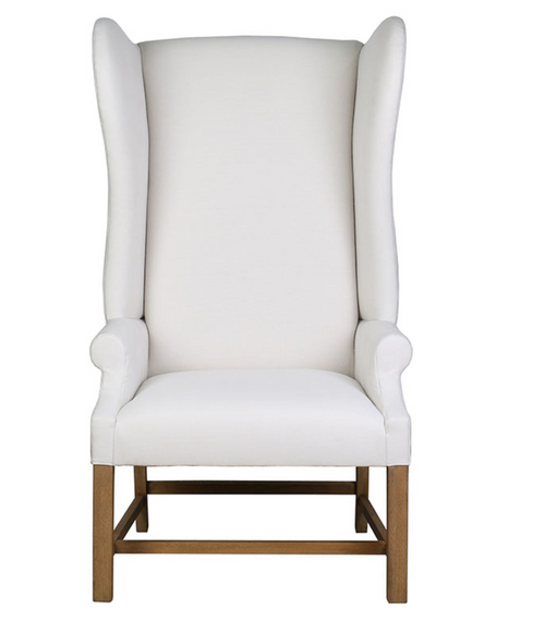 BoBo Intriguing Objects Linen Wing Chair