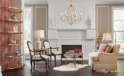 Wildwood Lighting Buckhead Chandelier in Gold