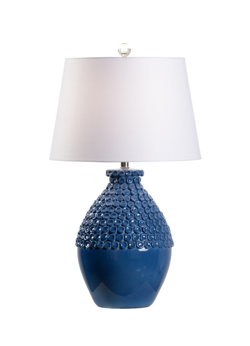 Barga Lamp in Yale Blue by Wildwood
