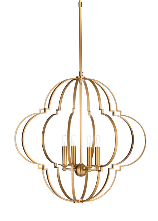 Wildwood Lighting Lola Antique Brass Chandelier