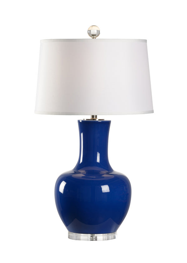 Yubi Lamp in Sapphire by Wildwood Lighting