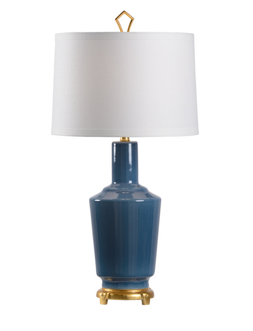 Wildwood Emma Lamp in Turkish Blue