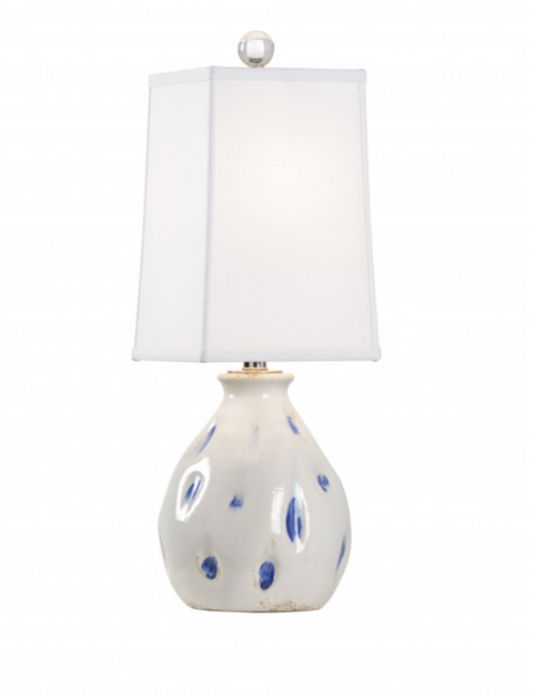 Dimples Lamp in Cobalt Blue by Wildwood