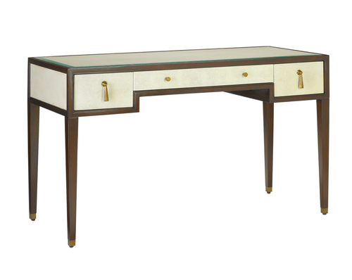 Currey and Company Evie Shagreen Desk