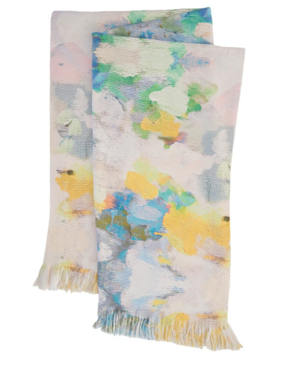 Butterfly Garden Throw Blanket by Laura Park