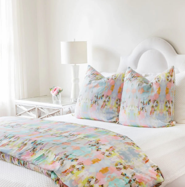 Brooks Avenue Duvet Cover by Laura Park