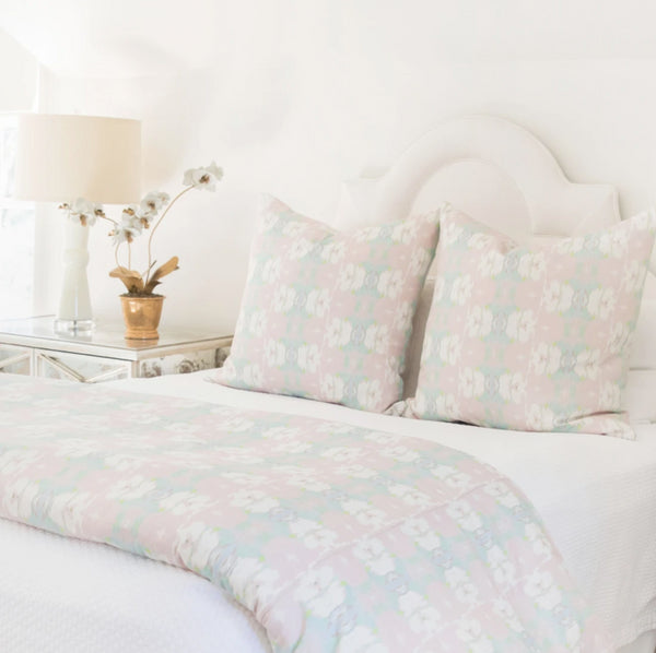 Butterfly Garden Blush Duvet Cover by Laura Park Designs