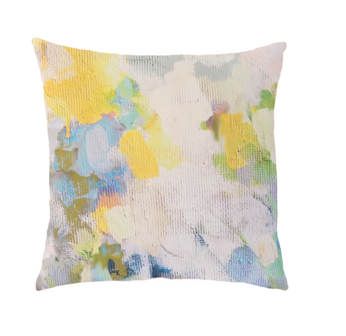 Laura Park Butterfly Garden Linen Cotton Pillow