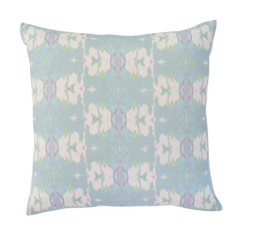 Laura Park Butterfly Garden Sky Pillow in Linen Cotton