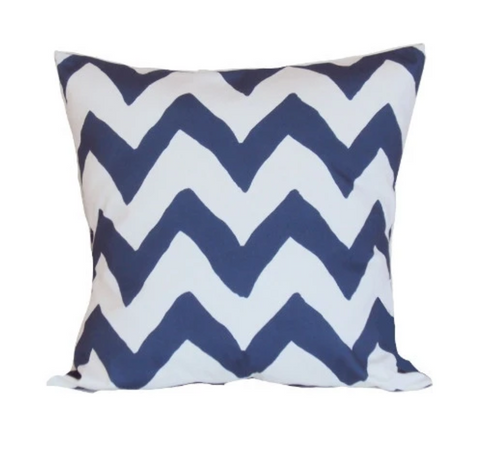 Dana Gibson Navy Blue Bargello Pillow