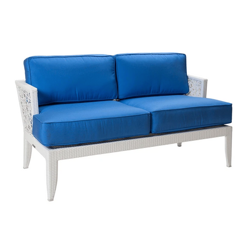 Mykonos Loveseat with Cushions by David Francis