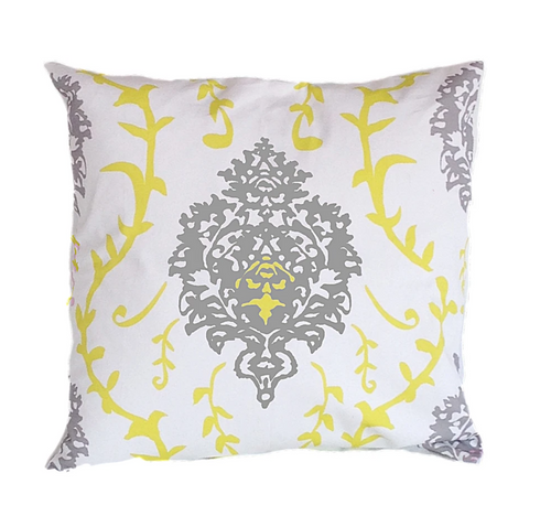 Dana Gibson Venetto Pillow in Yellow