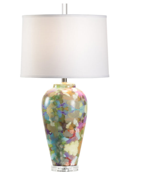 Laura Park for Wildwood Indigo Girl Lamp I