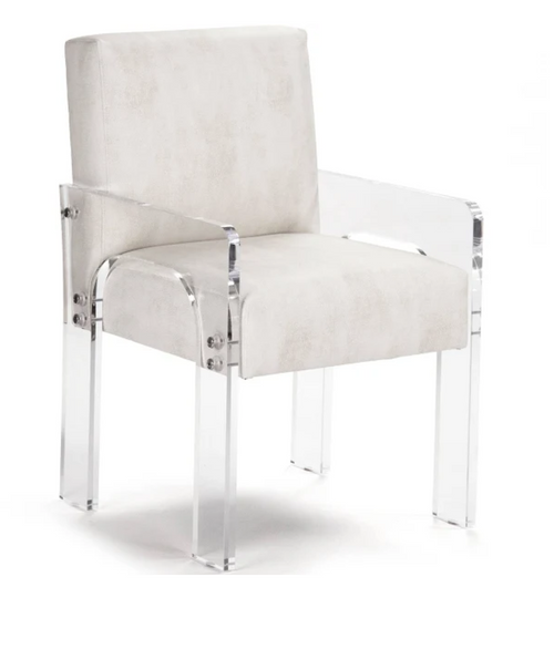 Zentique Ariston Acrylic Arm Chair