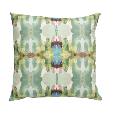 Laura Park Lawson's Park Purple Linen Cotton Pillow