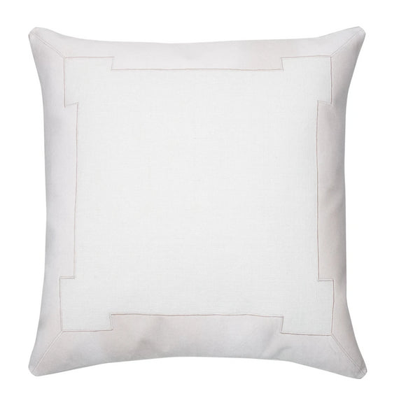 Piper Collection Collins Throw Pillow in Blush
