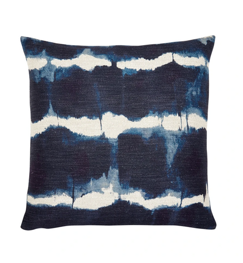 Piper Collection Gilbert Throw Pillow in Blue