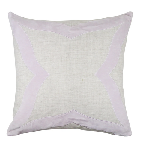 Piper Collection Elle Pillow in Lavendar