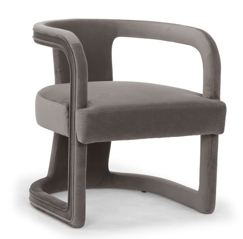 Urbia Rory Accent Chair, Mouse Grey