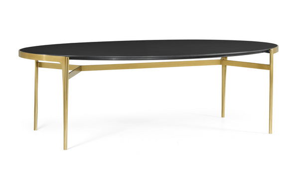 Jonathan Charles Fusion Oval Dining Table