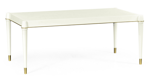 Jonathan Charles Ivory Painted Coffee Table