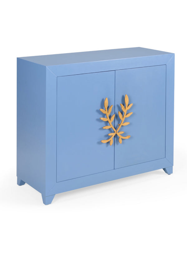 Chelsea House Longleaf Door Cabinet in Blue