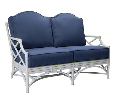 Chippendale Outdoor Loveseat by David Francis Furniture