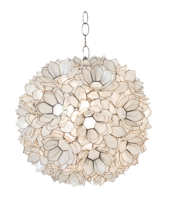 Worlds Away Venus Capiz Shell Pendant Light