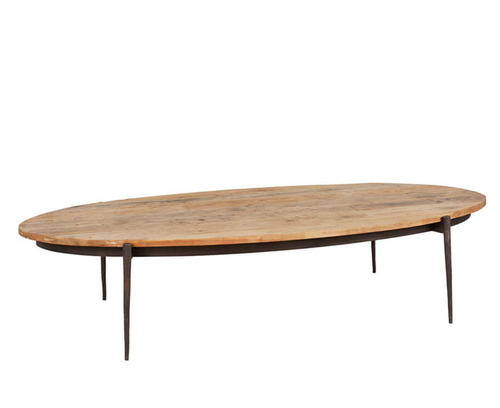 Bobo Intriguing Objects Surfboard Coffee Table