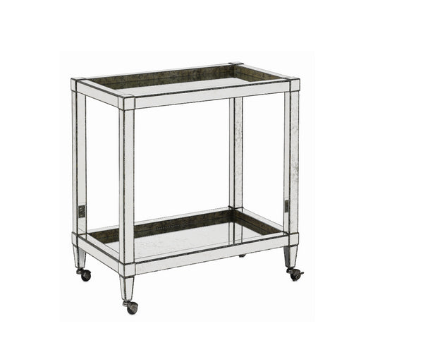 Monarch Bar Cart by Currey and Company