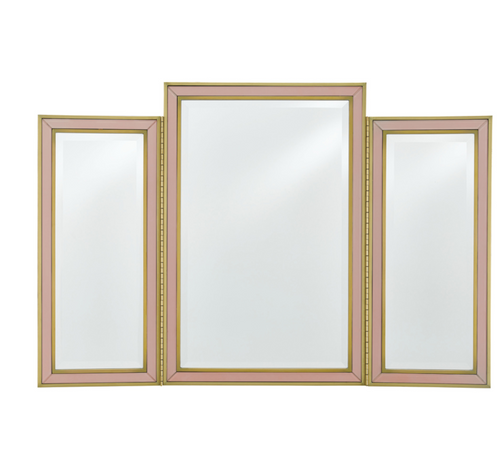 Arden Pink Vanity Mirror by Currey and Company