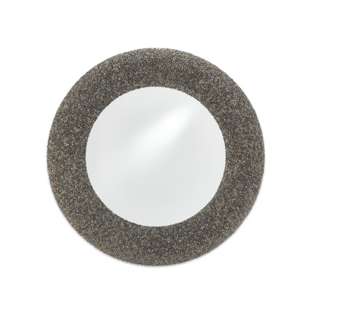 Battad Shell Mirror by Currey and Company