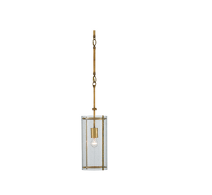Currey and Company Chase Pendant Light, Gold