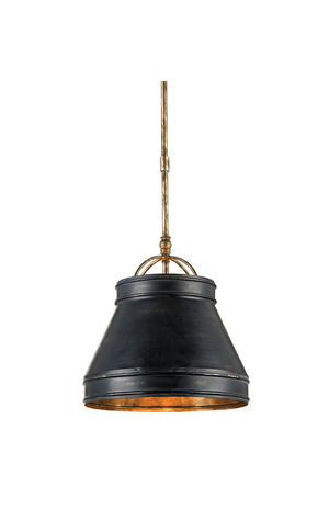 Currey and Company Lumley Black Pendant