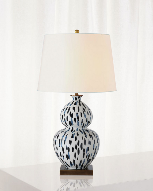 Port 68 Mill Reef Indigo Table Lamp