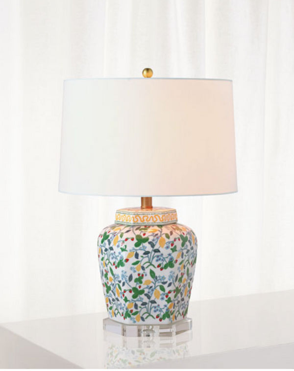 Crewel Summer Lamp by Madcap Cottage for Port 68
