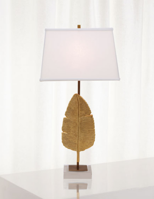 Port 68 Biscayne Gold Table Lamp