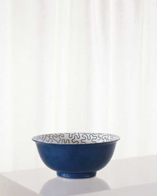 Port 68 Venezia Indigo Bowl
