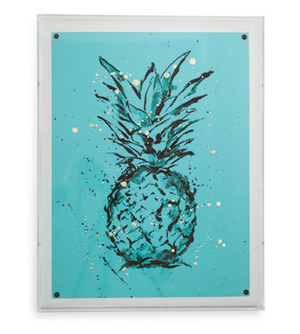 'Pineapple Blue' Art by Port 68